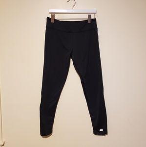 NWOT, Marika Tek Black Fleece Leggings, L